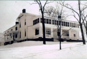 """the Rosendale """"mansion"""" and Smith Creek"""