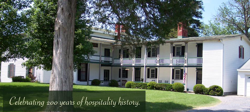Celebrating 200 years of hospitality history.